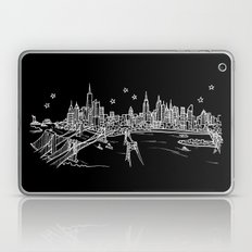 New York, New York City Skyline Laptop & iPad Skin