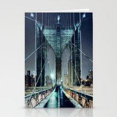 Brooklyn Bridge In Winte… Stationery Cards