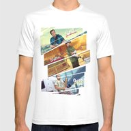 Breaking Bad Mashup GTA … Mens Fitted Tee White SMALL