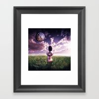Clockworks Framed Art Print
