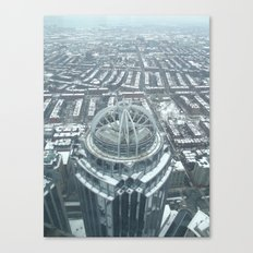 Aerial Boston Canvas Print