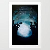 Mosters Playground Art Print