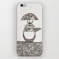 Happy Totoro iPhone & iPod Skin