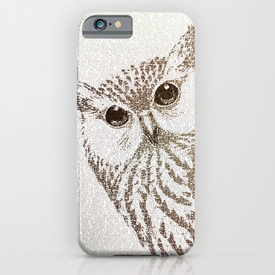 The Intellectual Owl iPhone & iPod Case