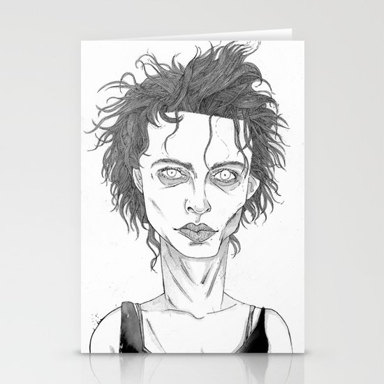 Marla Singer Stationery Card