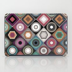festival dusk diamond iPad Case