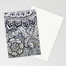 Four sides of a box (iv) Stationery Cards