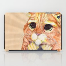 Puss In Boots. iPad Case