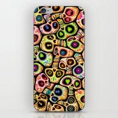 Calaveras del Día de los Muertos. iPhone & iPod Skin