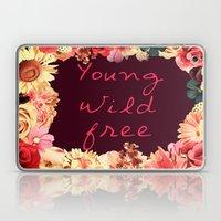 Young, Wild, Free Laptop & iPad Skin