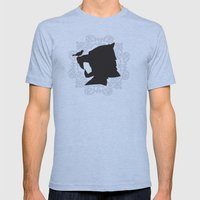 The Little Bird Finds A … Mens Fitted Tee Athletic Blue SMALL