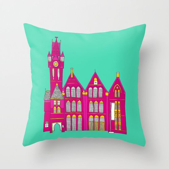 Architecture II Throw Pillow