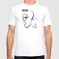BLANKM GEAR - MR. GREEN … Mens Fitted Tee White SMALL