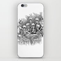 Gathered Remains iPhone & iPod Skin