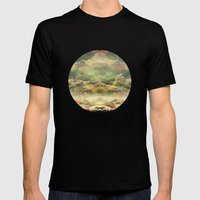 Head In The Clouds By De… Mens Fitted Tee Black SMALL