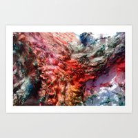 Dyed In The Wool Art Print