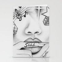 Rihanna - Shine Bright L… Stationery Cards