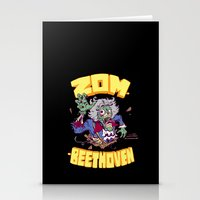 Zombeethoven Stationery Cards
