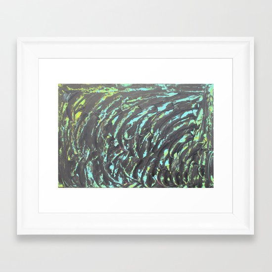 what you do to me Framed Art Print