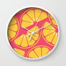 Citrus: Orange Wall Clock