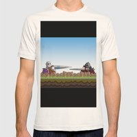 Joust It Mens Fitted Tee Natural SMALL
