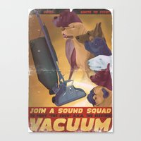 Sound Squad Anti-Vacuum … Canvas Print