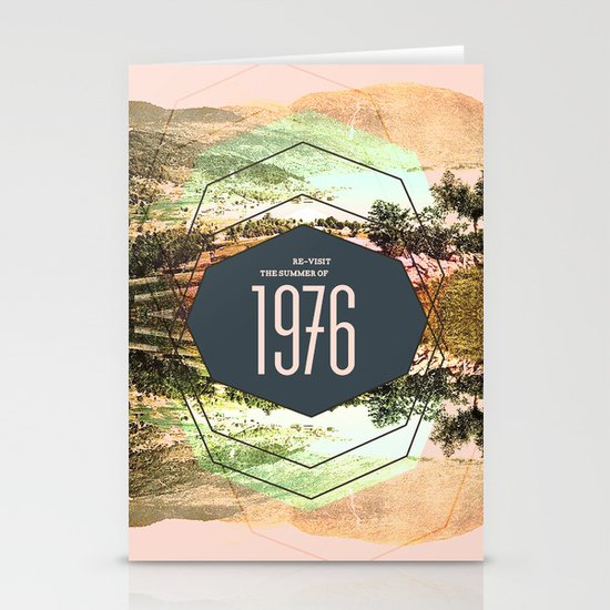 Summer of 1976 Stationery Card