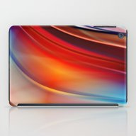 Glowing Waves  iPad Case
