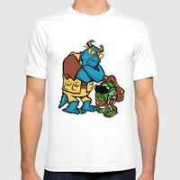 The Big Wazowksi Mens Fitted Tee White SMALL