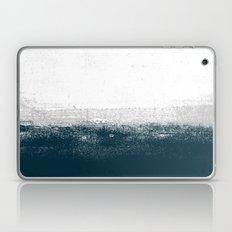 Ocean No. 1 - Minimal ocean sea ombre design  Laptop & iPad Skin