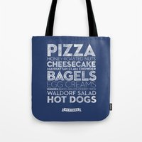 New York — Delicious C… Tote Bag