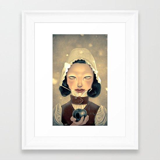 Snowhite Framed Art Print