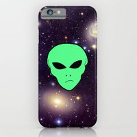 iPhone & iPod Case featuring Alien by jajoão