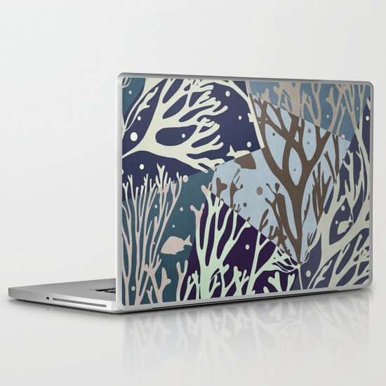 Under the Sea - Abstract Laptop & iPad Skin