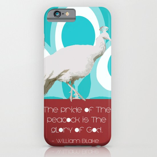 The Pride of the Peacock iPhone & iPod Case