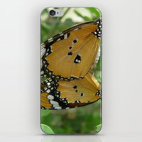Butterfly Mirror iPhone & iPod Skin