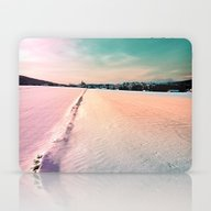 The Field And The Villag… Laptop & iPad Skin