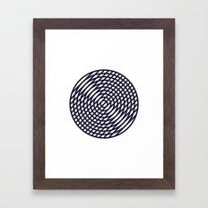 #190 Vinyl – Geometry Daily Framed Art Print