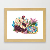Pondfish Framed Art Print