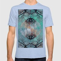 autumn tree - vessel pattern 2 Mens Fitted Tee Athletic Blue SMALL