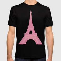 OUI OUI Mens Fitted Tee Black SMALL