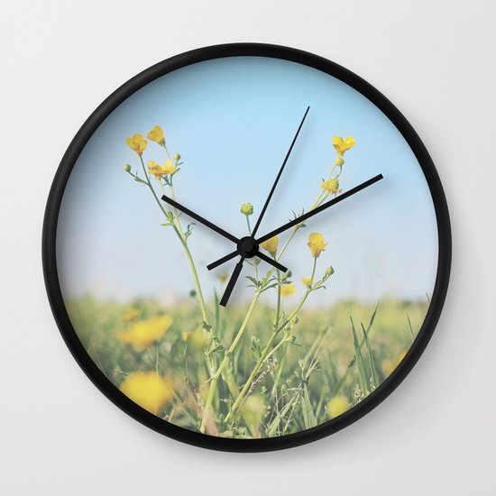 Aim for the Skies Wall Clock
