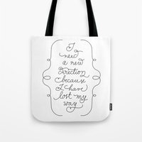 New Direction Tote Bag