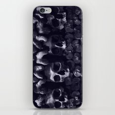 Skulls - Paris Catacombs, tinted version iPhone & iPod Skin