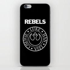 I Wanna Be a Rebel iPhone & iPod Skin