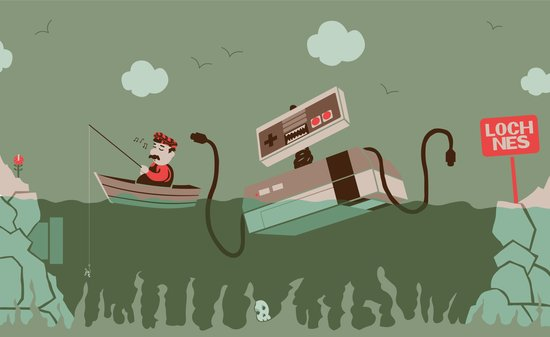 Loch NES V.2 Art Print