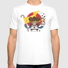 Chestnut + Kiiroihankachi cause we will not forget!!! Mens Fitted Tee White SMALL