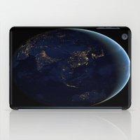 Asia at Night iPad Case