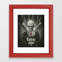 Contract Killer Framed Art Print