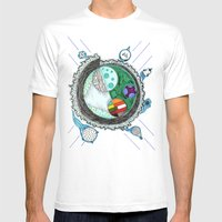 That Is No Moon! Mens Fitted Tee White SMALL